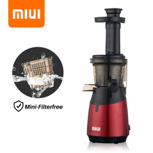 Juicer-Machine Screw Cold-Press-Extractor Slow-Juicer Vegetable Fruit FILTER-FREE-TECHNOLOGY