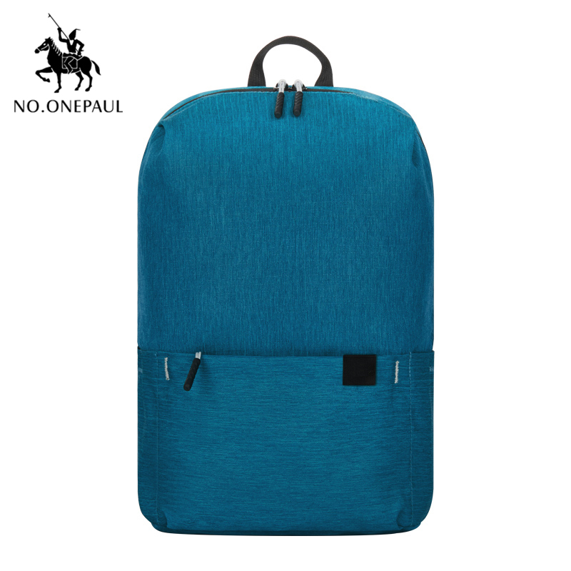 NO.ONEPAUL Backpack Women Shoulder Bag Solid Color School Bag Laptop Backpack Cute Girl Children Backpacks Travel Sports Bags