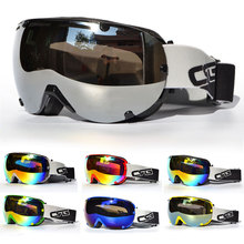 New Snowboard Dustproof Sunglasses Motorcycle Ski Goggles Lens Frame Glasses Paintball Outdoor Sports Windproof Eyewear Glasses two tone frame flat lens glasses