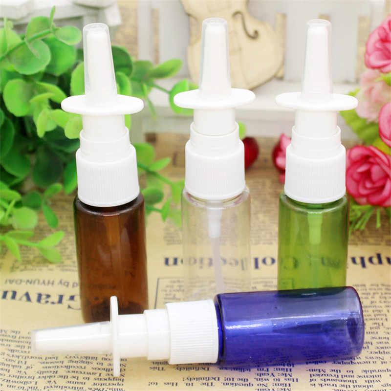 1PC 15ml PET Leere flasche Kunststoff Nasenspray Flaschen Pumpe Sprayer Nebel Nase Spray Nachfüllbar Flaschen