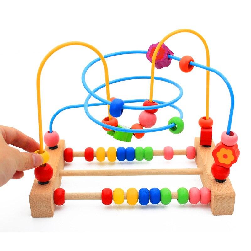 Children Bead-stringing Toy Intelligence Early Education CHILDREN'S Toy Men And Women Hai Bao Bao Yi Beaded Bracelet Building Bl