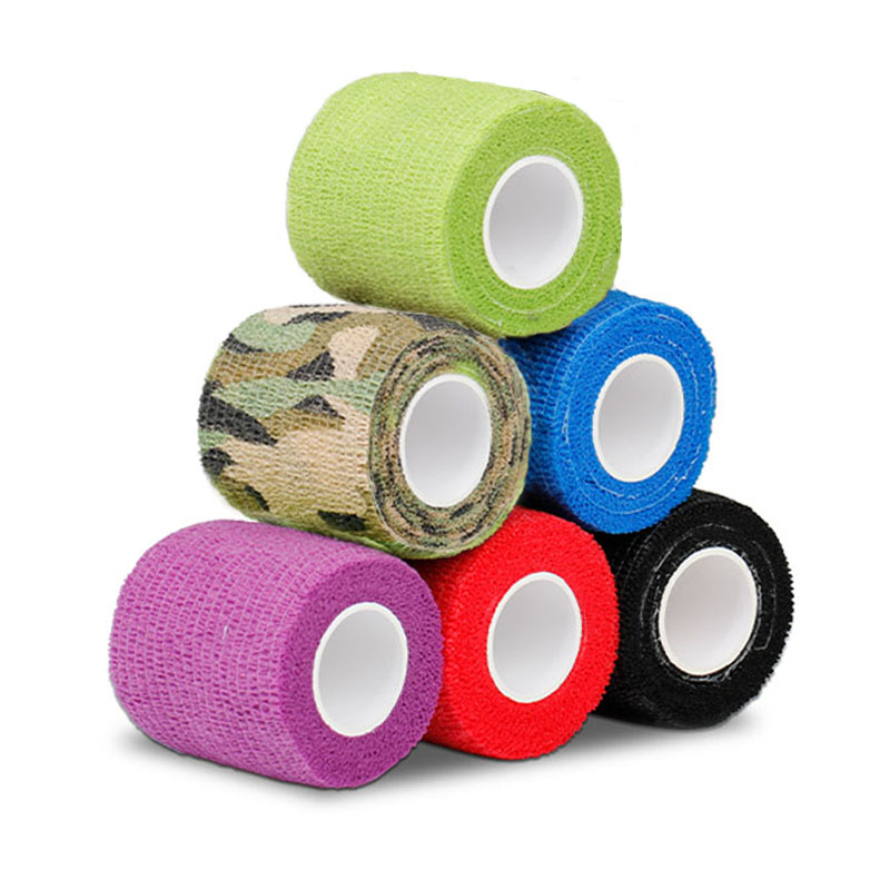 Hot Sale 6PCS Cohesive Disposable Tattoo Grips Covers Tapes Tattoo Bandage For Tattoo Machine Tattoo Supplies Free Shipping