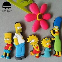 Homer Simpson cartoon kreative kühlschrank magnet frühen bildung dekorative kühlschrank Aufkleber home decor