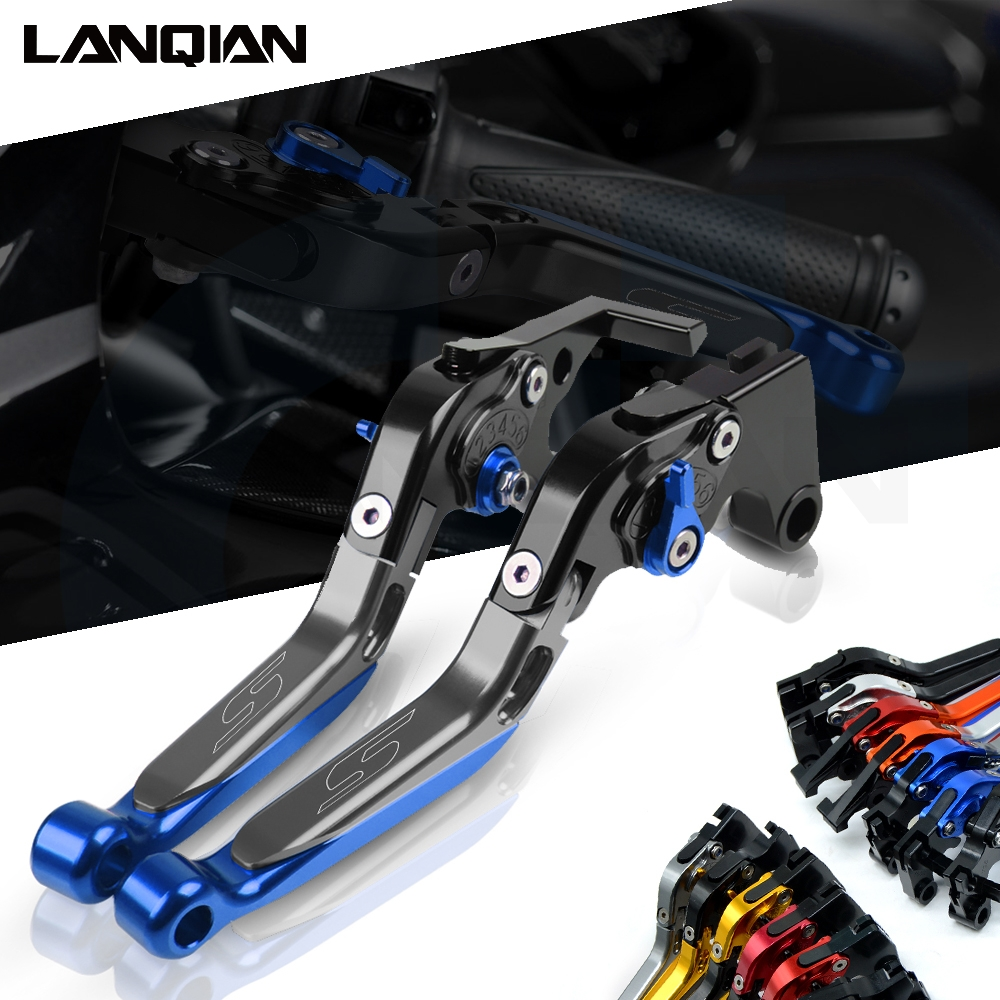GSXR600 GSXR750 2011-2019 GSXR 600 750 1000 Brake Clutch Levers Foldable Extendable CNC Motorcycle Accessories For Suzuki GSXR1000 GSXR 1000 2009-2019