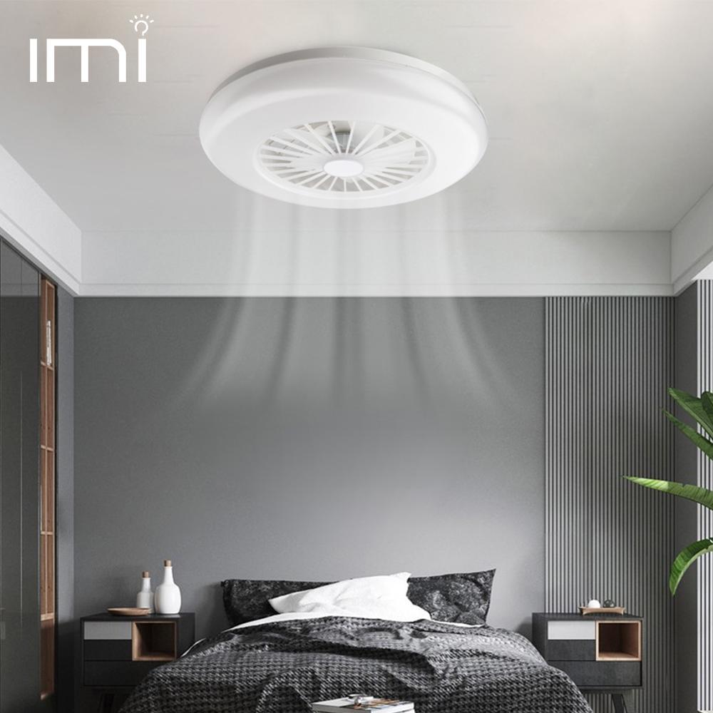 LED Ceiling Fan Light 2 in 1 E27 Vintage Home Decor Lamp 12W 24W Kitchen Dining Room Restaurant Night Market Toilet AC 12C 220V