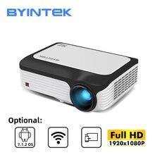 BYINTEK M1080 Full HD 1080P Smart Android WIFI Home Theater Mini proiettore portatile a LED Beamer per 3D 4K