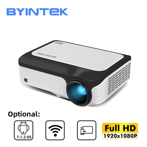 Image 1 - BYINTEK M1080 Full HD 1080P Smart Android WIFI Home Theater Portable LED Mini Projector Beamer for 3D 4K
