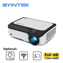 Byintek M1080 Full Hd 1080P Smart Android Wifi Home Theater Draagbare Led Mini Projector Beamer Voor 3D 4K