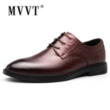 Handmade Genuine Leather Shoes Men Oxfords Business Dress Fashion Italian Style Formal Flats