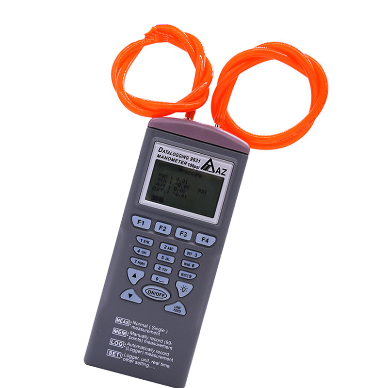 Купить манометр az9631 100 фунт/кв дюйм измеряет и записывает дифференциальное