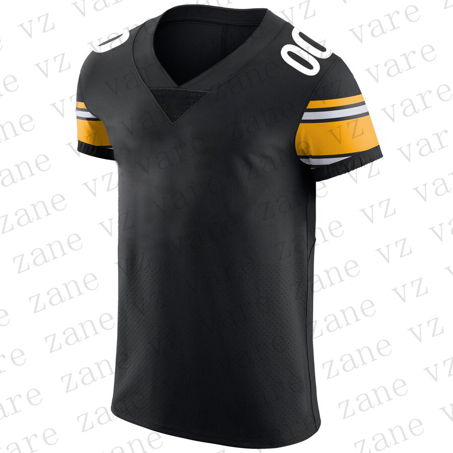 Customize Men Sports Fans Wear American Football Jerseys JuJu Smith-Schuster James Conner TJ Watt Devin Bush Joe Haden Mason Rudolph Cheap Pittsburgh Jersey