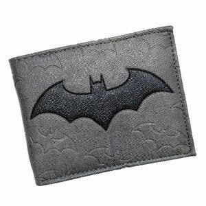 Cool Design DC Wallet High Quality Batman Wallets PU Leather Purse for Man Boy(China)