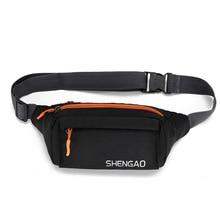 Men Women Fanny Bum Pack Teenager Outdoor Sports Running Cycling Waist Bag Pack Casual Shoulder Belt Bag Travel Phone Chest Bags
