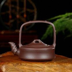 Sto wierzyć Yixing Yixing prezent surowy z rudy fioletowy atrament do nadruku pieczęci bambusowy styk uchwyt ciemnoczerwona emaliowana ceramika