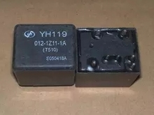 5 teile/los auto auto 12V relais YH119 012 1Z11 1A (T510) YH119 012 1Z11 1A 12VDC 4119 1C 7P 11MM DIP7