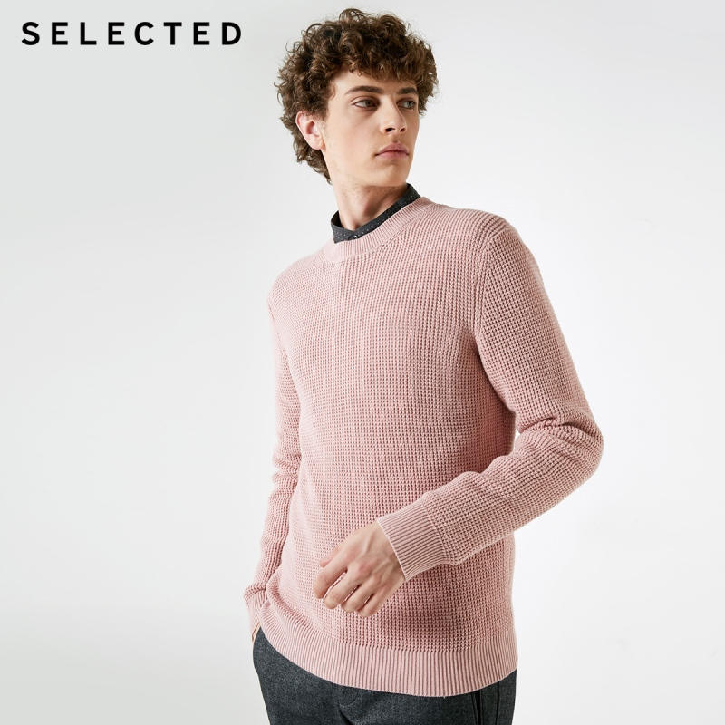 Image 3 - SELECTED Mens Winter Cashmere blend Pullover Clothes Round 