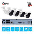 Keeper H.265 5MP 4CH POE NVR kamera kit mit 4 PCS POE IP kameras outdoor Netzwerk Kabel Set Surveillance NVR system kit|Überwachungssystem|   -