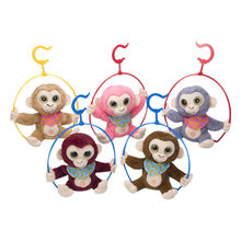Plush Toy Gift For Children Talking Monkey Electronic Plush Toy Repeats What You Say Study Talking For Baby(China)