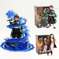 Figuras de acción Kamado Tanjirou Kamado Nezuko Anime Figma dragón juguete modelo PVC muñeca Juguetes