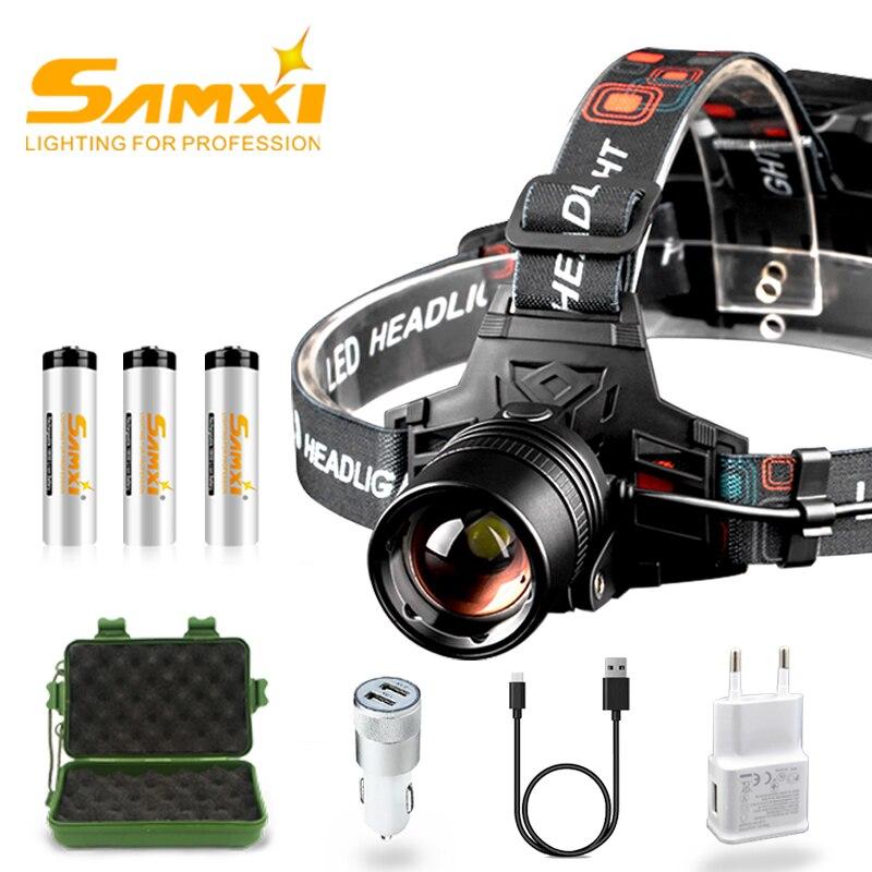 XHP70 LED Headlamp Power Bright Bike Headlight Rechargeable 18650 Battery Head Light For Bicycle Light Like Fishing Flashlight