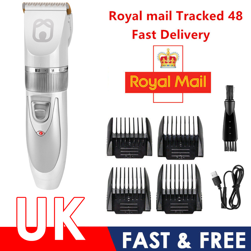 Pet Dog Clipper Low Noise Professional Hair Clipper For Cat Dog Grooming Animal Clipper Cat Hair Trimming USB Rechargable 1
