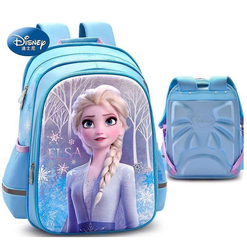 Disney Frozen Elsa Anna Girls Kids School Backpack Bookbag Lunch Box Toy Gift