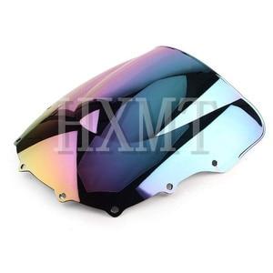 Image 5 - For Kawasaki ZZR400 ZZR600 ZZR 400 ZZR 600 1993 2007 1993 1994 1995 1996 1997 1998 1999 2000 black Windshield WindScreen
