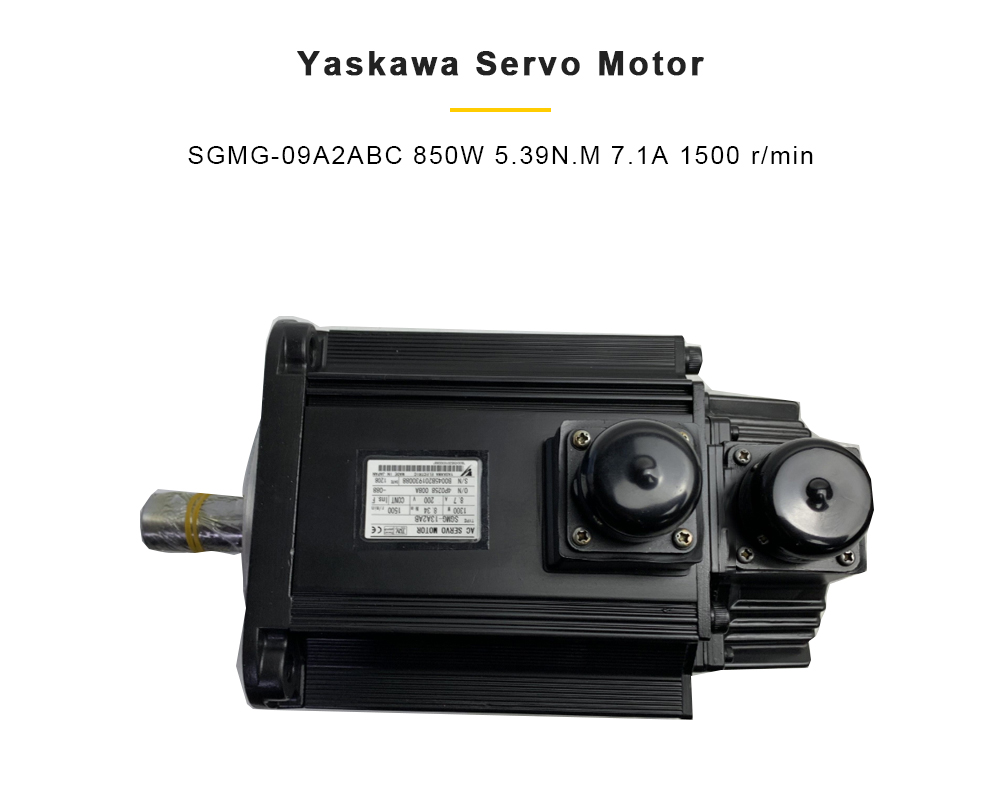 Servo motor de yaskawa SGMG-09A2ABC 850 w 5.39n. m 7.1a 1500 r min