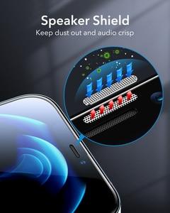 Image 4 - Esr iPhone 12 pro max用のタフレンズ付き保護ガラス,強化ガラス,フルカバー,2個