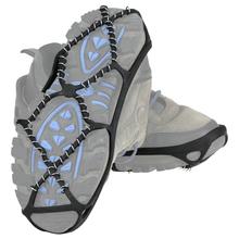 1 para antypoślizgowe śnieg Ice Gripper buty wspinaczkowe kolce uchwyty raki knagi kalosze raki Spike buty Crampon M L rozmiar tanie tanio CN (pochodzenie)