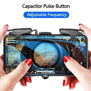 Image 3 - Mobiele Gamepad Legering Joystick Smartphone Gaming Controller Voor Iphone Android Pubg Gamepad Shooter Trigger Knop Controle Handvat