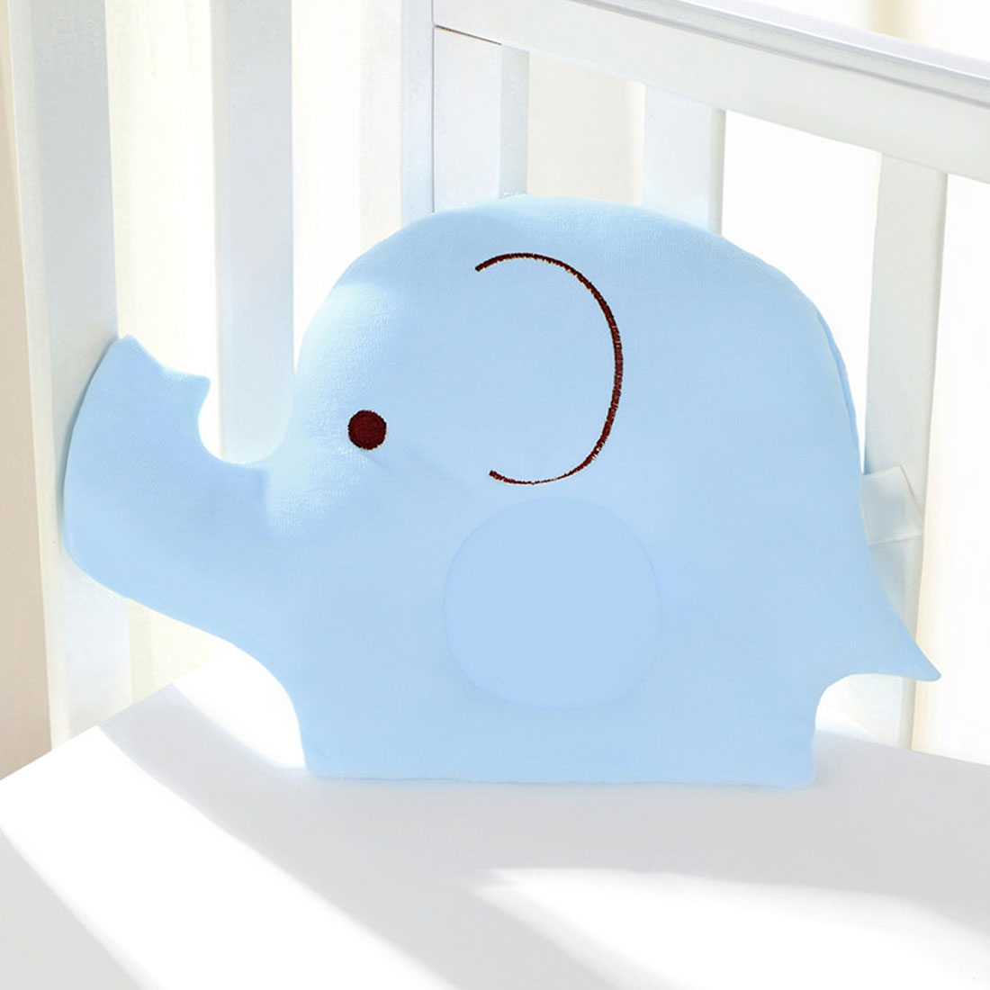 0 24M Newborn Baby Pillow Flat Head Sleeping Positioner Support Cushion Prevent Elephant Styling Pillow Gift in Pillow from Mother Kids