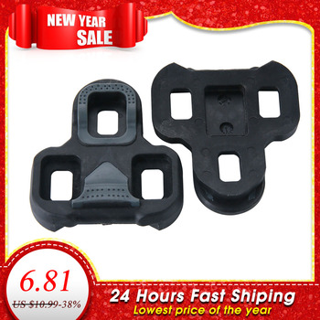 Road Bike Pedal Cleat Self-Locking Pedal Compatible With LOOK KEO Ultralight Bike Pedal Bicycle Accessories Cycling Cleats bicycle pedal mtb bike self locking spd pedal clipless pedal platform adapters for shimano spd looking keo system accessories