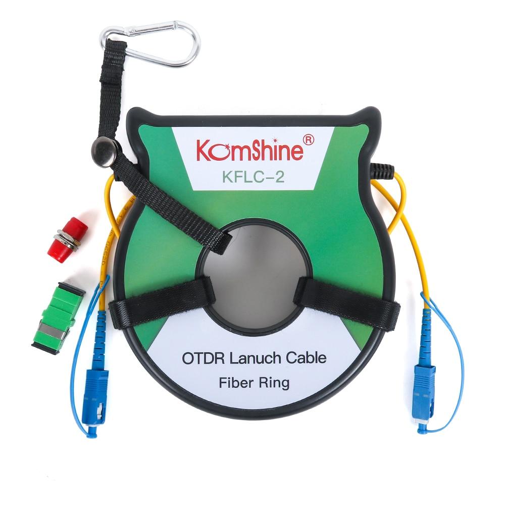 Anillo de Cable de lanzamiento kombshine SM OTDR monomodo G652D OTDR eliminador de zona muerta, anillos de fibra 1000m Tela de malla autoadhesiva de 5cm, 8cm, 10cm de ancho, herramientas de mosaico de fibra de vidrio blanca, junta de rejilla resistente a roturas, fibra de vidrio DIY para contrapunto