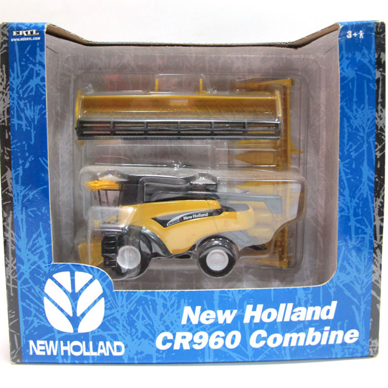 1/64 NEW HOLLAND CR960 COMBINE Harvester Collection 13595 Yellow Diecast ABS Agricultural Vehicles