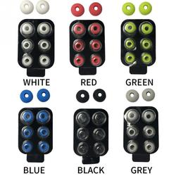 4 Pairs/set In Ear Noise Isolated Soft Anti Slip Removable Earbuds Tip With Box Spared Silicone Replacement For Beats Power3