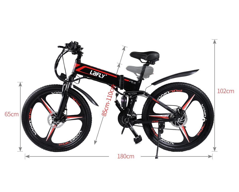 Duty free LAFLY X3 26inch electric mountain bicycle 48V1000W high speed motor Lightweight frame hidden lithium battery ebike 6