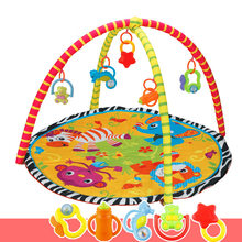 Kids Children Baby Fitness Rack Game Blanket Crawling Carpet Mat Gym Toys Intellectual Development FO Sale
