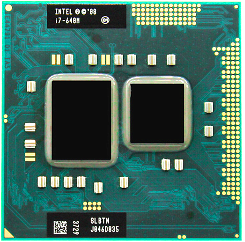 Intel Core I7-640M Processor I7 640M 2.8 GHz Dual-Core  Laptop CPU PGA 988 Cpu