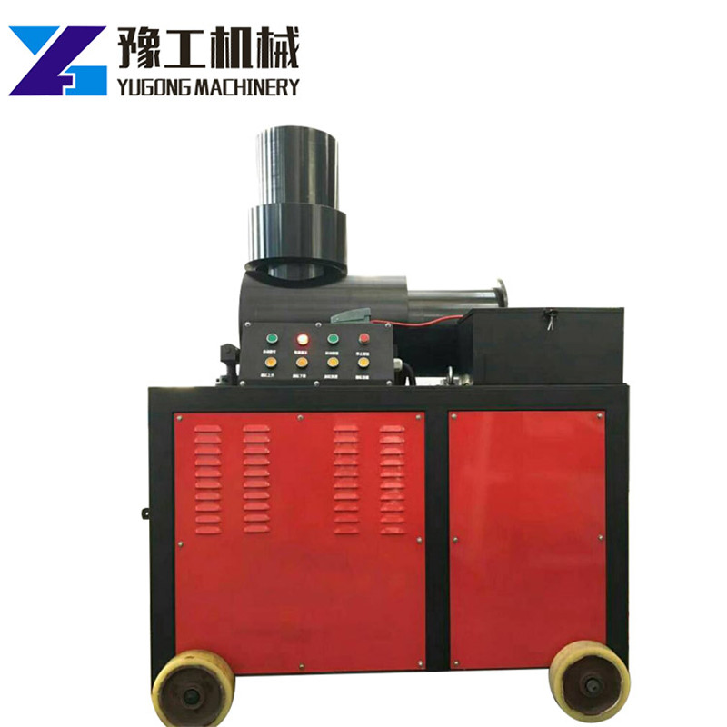 Steel Bar End Upset Forging Machinery 40mm Double Cylinder Rebar Upsetting Machine