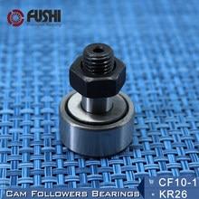 Kr26 CF10-1 seguidores da came que carregam 10mm 1 pça tipo rolos da trilha krv26 cf10b nakd26 kr26pp/uu rolamentos CF-10-1