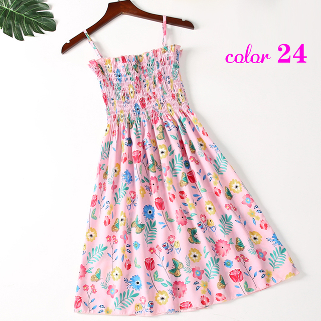 Summer Flower Chiffon Dress 2