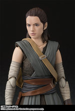 Bandai Star wars Rey Skywalker Action Figure Collection toys for christmas gift with box(China)
