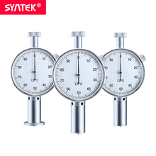 Syntek Dial Hore Durometer Sclerometer Rubber Hardness Tester Meter 0-100HA/HC/HD Paragraph LX-A/C/D Type Dial Durometers gy 3 analog fruit hardness tester sclerometer penetrometer
