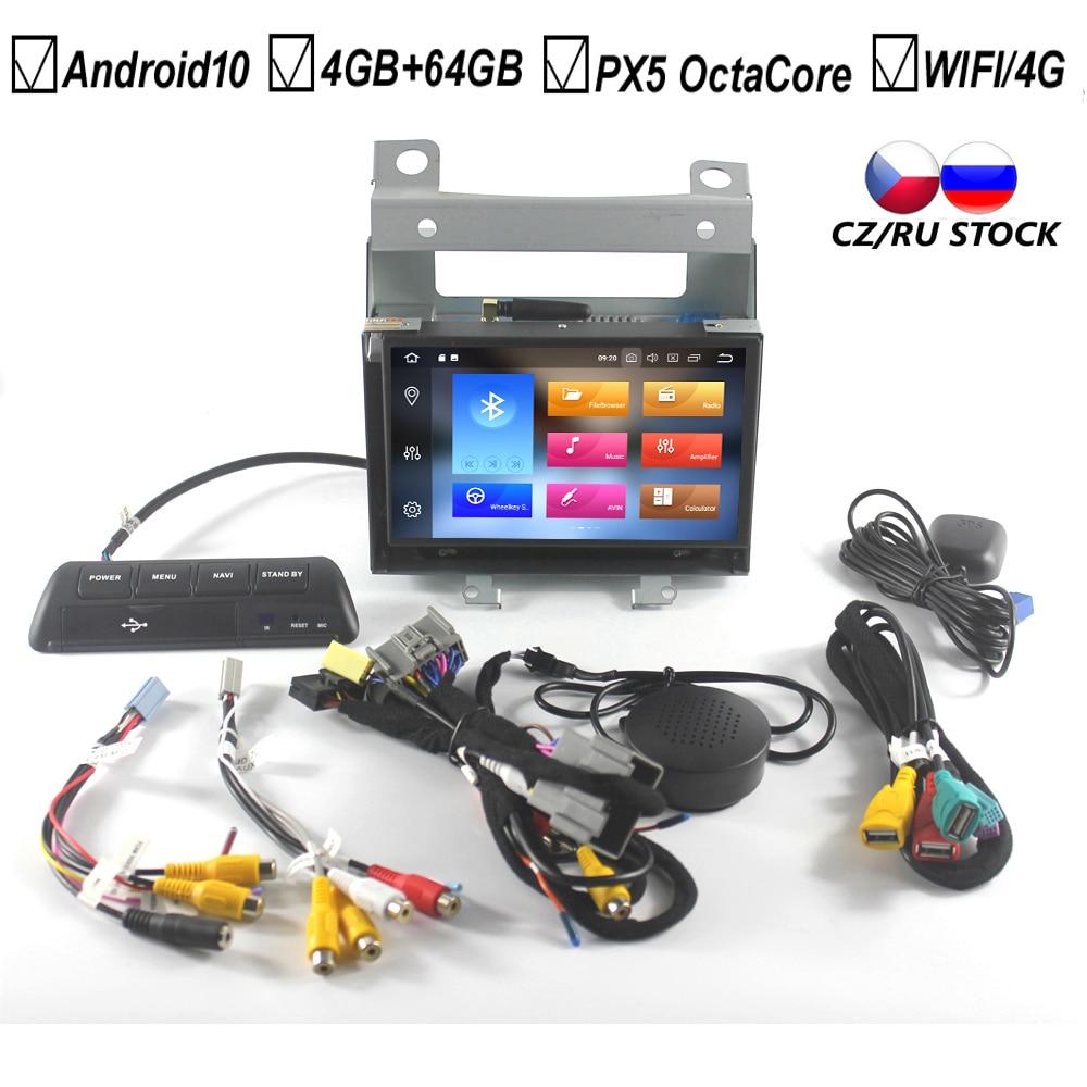 7-дюймовый автомобильный Android 10,0 без DVD GPS проигрыватель для Land Rover Freelander 2, четыре ядра, 4 Гб Оперативная память + 64 ГБ флэш-памяти Bluetooth DVR DAB + кар...