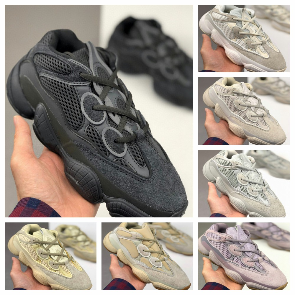 2020 The New 500Yeezy Men's Running Shoes Retro Cushioned Dad Shoes For Women In Plus-size 36-46 Sneakers