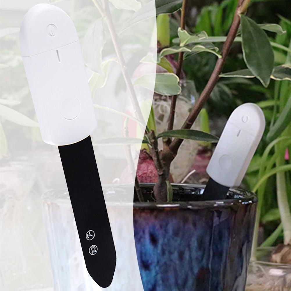 Smart Home With Light Indicator Detect Garden Portable Accurate Plant Humidity Meter Soil Moisture Tester Flower Monitor Dry Wet