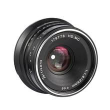 7 artisans 25mm F1.8 Prime Lens for All Sony E Mount /Canon EOS-M Single Series Mount / Fuji FX Mou