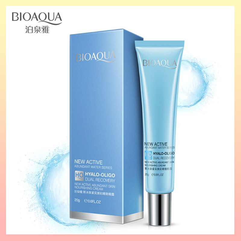 BIOAQUA Lifting Firming Eye Cream Anti Aging And Fine Lines Face Care Moisturizing Remover Dark Circle Anti-Puffiness For Beauty