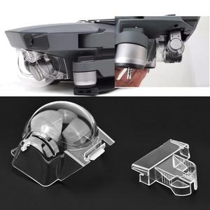 Image 1 - Objektiv Kappe Abdeckung Gimbal Halter Halterung Schutz für DJI Mavic Pro Platin Drone Protector Kamera Halterung Ersatzteile Zubehör